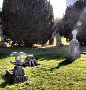 Graveyard Install by Laura Keeble